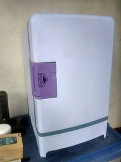Personal and car refrigerator with warm option