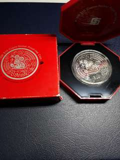 year of 1996 ,$10 nickel proof like coin.