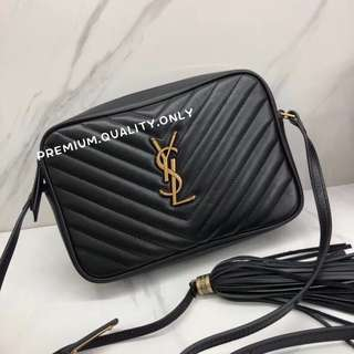 YSL Sling Bag in black Lou