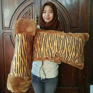 Bantal Guling Set Besar Harimau Macan Leopard