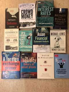 Collection of Finance Books