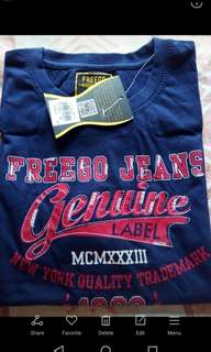 Branded over run t-shirt