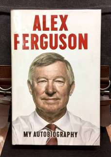 《Preloved Hardcover + Memoir / Autobiography Alex Ferguson》ALEX FERGUSON : MY AUTOBIOGRAPHY
