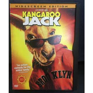 Kangaroo Jack Movie (Authentic DVD)