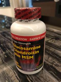 BN Glucosamine Chondroitin plus MSM