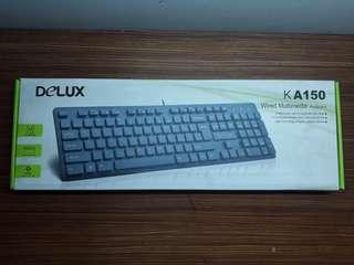 Delux Wired Multimedia Keyboard