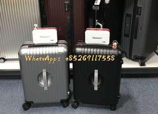 RIMOWA Multipurpose Case, weiß/rot HKD1200 便利日用盒🤗