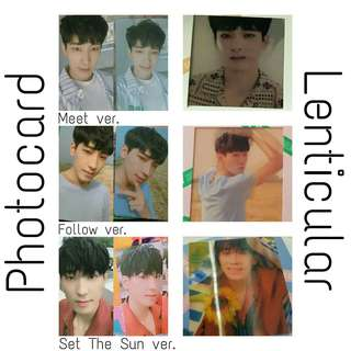 [WTB] Wonwoo 'You Make My Day' Photocards and Lenticular