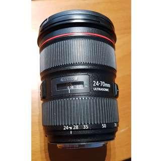 *UNBEATABLE PRICE* Canon EF 24-70mm f/2.8L II USM [9.5/10]