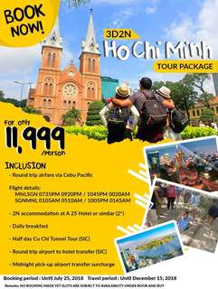 3D2N HO CHI MINH ALL-IN PACKAGE
