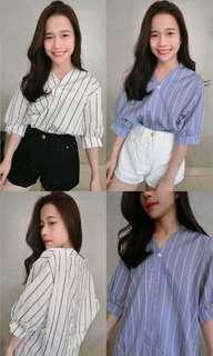 Stripe top (white)