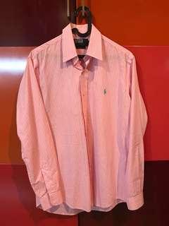 Original kemeja polo ralph lauren size s custom fit