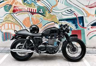 2016 Triumph Bonneville T100 Black Edition