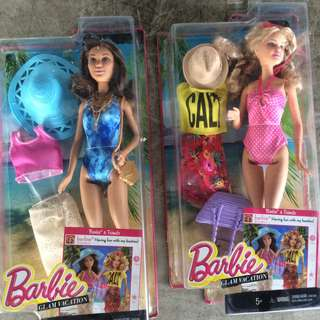 2 Units barbie Dolls with Accessories