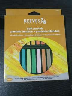 Soft Pastel Reeves 24 Colours