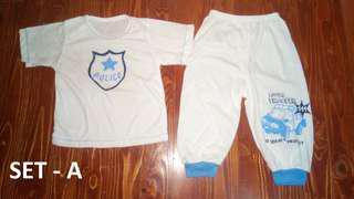 Terno Shirts and Pajamas/Shorts Designs  - (Large)