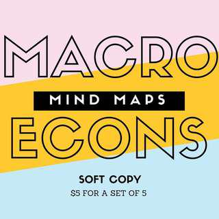 [Softcopy] H2 Macroeconomics Mindmaps (based off RJC notes)