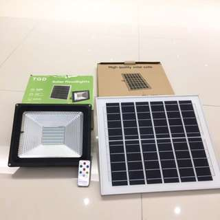 50W solar led flood light