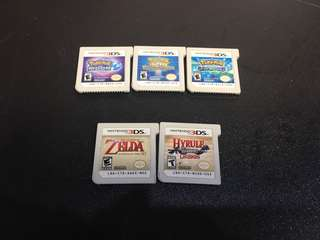 3DS Games mint and in good quality