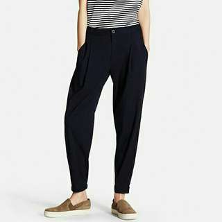 Uniqlo Jogger pants in navy blue
