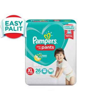 Pampers XL DRY PANTS