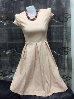 Peach Dress - Used once!!!