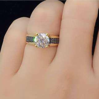 cincin emas cartier swarovski
