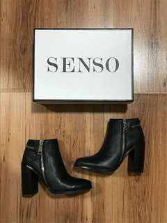 SENSO Quaint I leather ankle boots