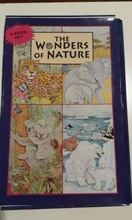 The Wonders of Nature ♡ 4-Big Book set