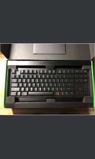 Razer Keyboard blackwidow chroma v2 - Green Switches Tactile and Clicky