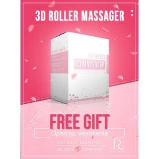 🚚 Japan 3D Massage Roller