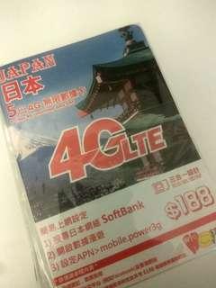 日本旅游上网卡