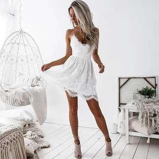 Strapy Lace Dress