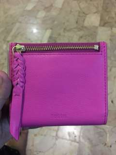 fossil bifold hot pink