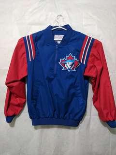 EUC Vintage Genuine Majestic Toronto Blue Jays Pullover Jacket