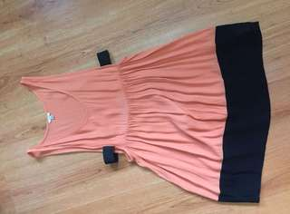 Forever 21 cuotout side dress
