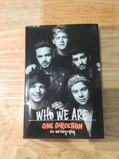 One Direction Who We Are an autobiography