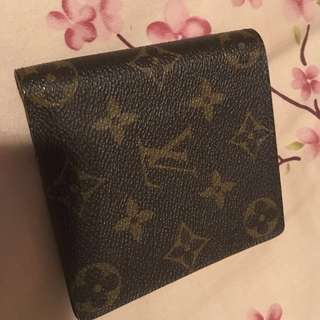 Louis Vuitton classic wallet銀包[100% real,made in Spain]