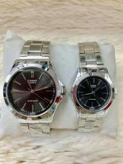 Casio Couple Watch with Box