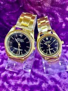 Rolex Couple Watch with Box
