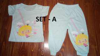 Terno Blouse/Sando and Pajamas Design - (Medium)