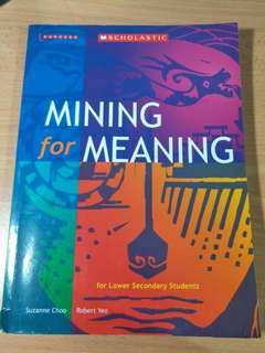 mining for meaning for lower secondary students