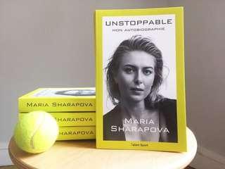 🚚 Maria Sharapova Hardback - Unstoppable