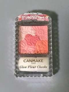 Canmake Glow Fleur Cheeks Shade 02