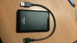 ADATA hv100 1TB隨身硬碟 隨身碟