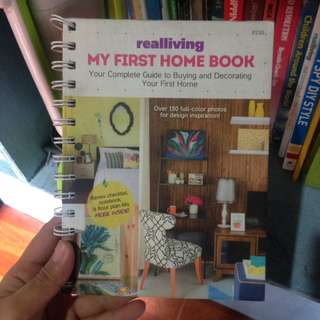My first home book realliving