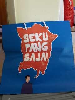 Penang paper bag