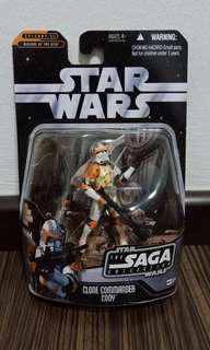 Star wars the saga collection Commander Cody