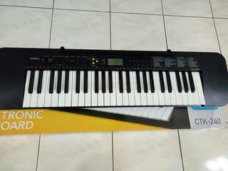 Casio Standard Keyboard CTK 240