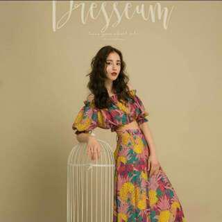 Dresseum鳳梨M整套+寶盒L